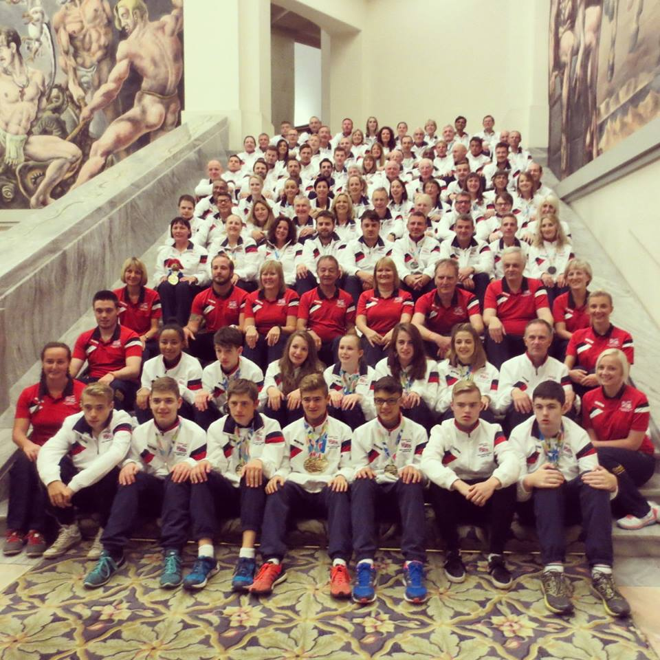 All 109 of the GB Transplant Games 2015 team, ages range from 15 through to 70+