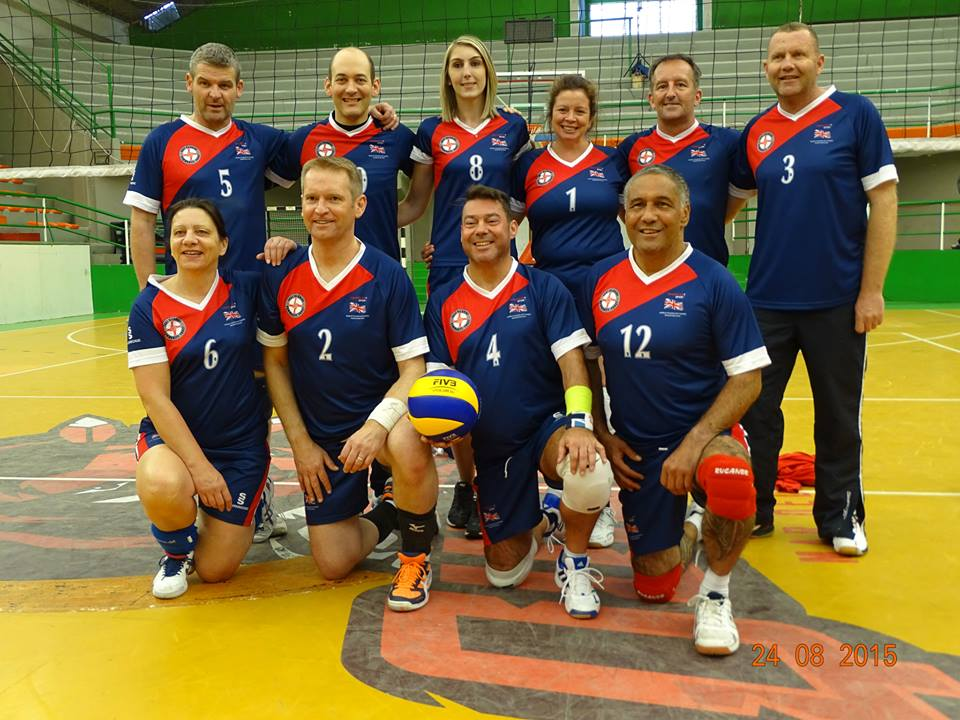 The British Volleyball Squad. Kidney, Heart, Liver and Bone Marrow recipients